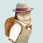 Travel Owl Jetsetting Around the World by AnimalCrew