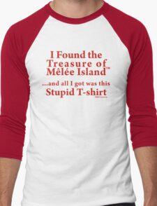 Treasure of Melee Island Men's Baseball ¾ T-Shirt