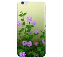Blooming By The Wall iPhone Case/Skin