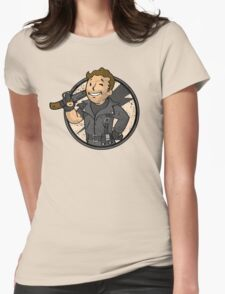 Warrior of the Road (sticker) Womens Fitted T-Shirt