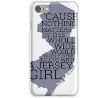 Jersey Girl iPhone Case/Skin