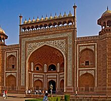 The Great gate of the Taj Mahal complex by Konstantinos Arvanitopoulos