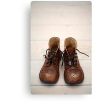 Baby Boots 1 Canvas Print