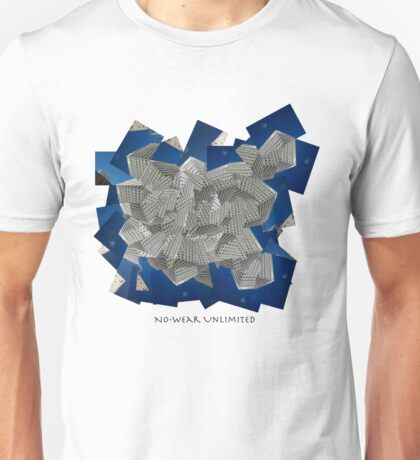 3D building t-shirt/hoodie Unisex T-Shirt