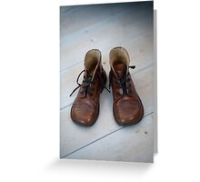 Baby Boots 2 Greeting Card