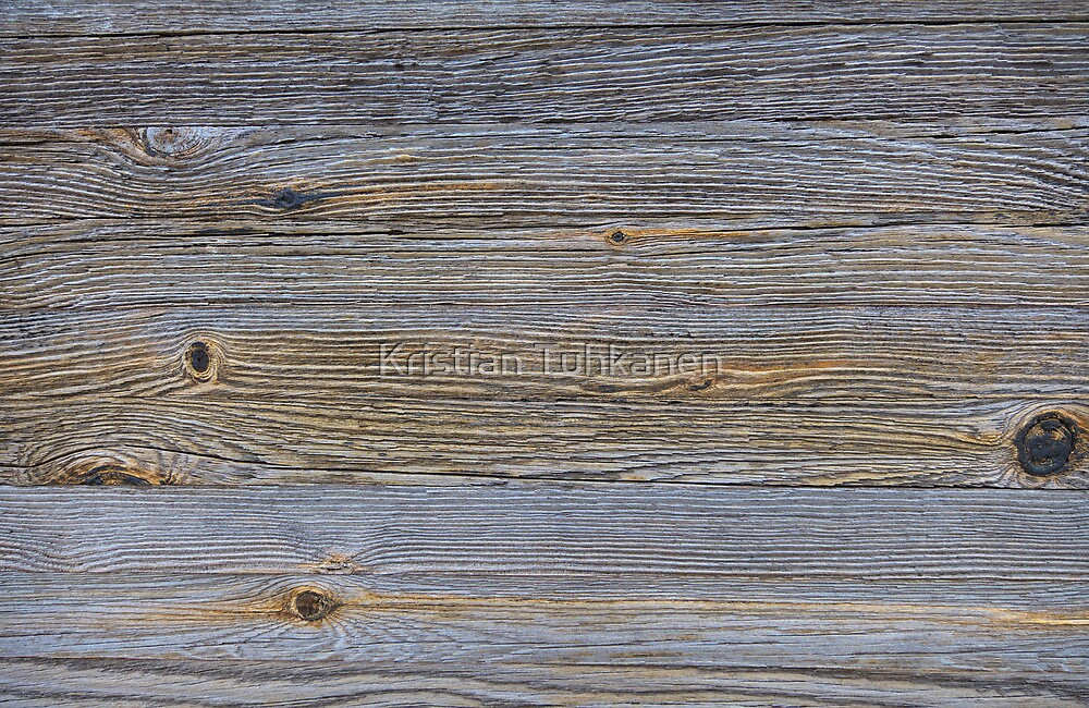 Rough wooden surface by Kristian Tuhkanen