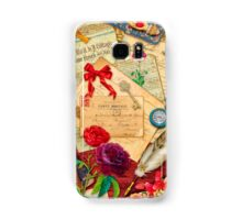 Vintage Love Letters Samsung Galaxy Case/Skin