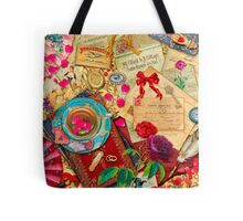 Vintage Love Letters Tote Bag