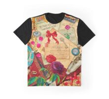 Vintage Love Letters Graphic T-Shirt