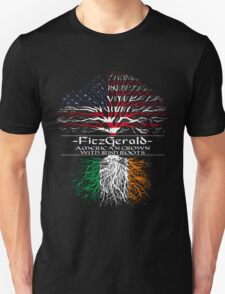Fitzgerald - American Grown with Irish Roots T-Shirt
