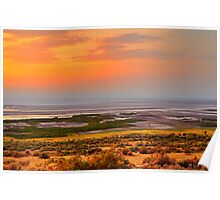 Albert Lake Sunset Poster