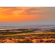 Albert Lake Sunset Photographic Print