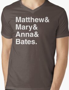 Upstairs and Downstairs Romance Shirt Mens V-Neck T-Shirt