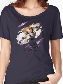 Lux  Women's Relaxed Fit T-Shirt
