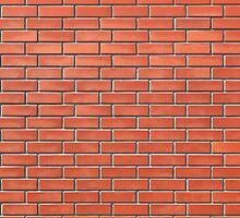 Red brick wall by Kristian Tuhkanen