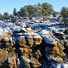 Castlewood Canyon by Bernie Garland