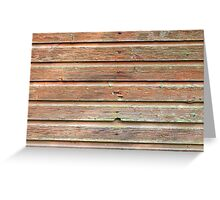 Old barn wall texture Greeting Card