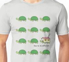 dare to be different - turtle Unisex T-Shirt