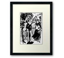 070 Framed Print
