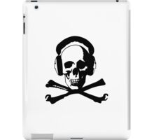 Skull & Headphones iPad Case/Skin