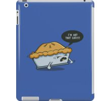 Not That Easy iPad Case/Skin