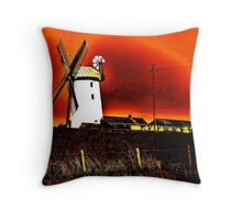 Northern Landscape Throw Pillow