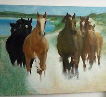 HORSES by rogerio