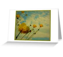 Wild Buttercups Greeting Card