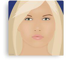 The Blond Returns Canvas Print