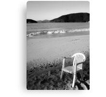 Chair in Paradise Canvas Print