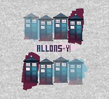 Allons~y!! Womens Fitted T-Shirt