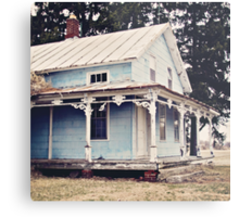 The Abandoned Dollhouse {3} Metal Print