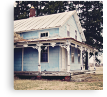 The Abandoned Dollhouse {3} Canvas Print
