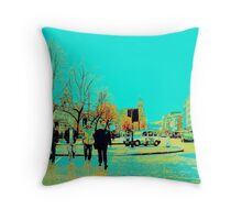 The Mens Night Out Throw Pillow