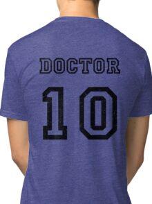 DOCTOR WHO 10th Tri-blend T-Shirt