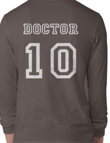 DOCTOR WHO 10th Long Sleeve T-Shirt