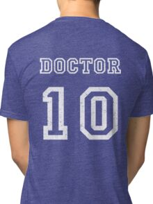 DOCTOR WHO 10th Tri-blend T-Shirt