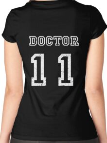 DOCTOR WHO 11th Women's Fitted Scoop T-Shirt
