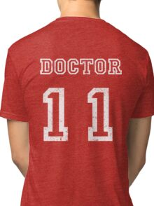 DOCTOR WHO 11th Tri-blend T-Shirt