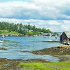 The Lobster Shack - Panoramic View by Lisa Gilliam Photography