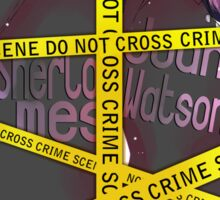 Crime Scene Sticker