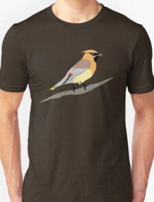 Cedar Waxwing Bird Unisex T-Shirt
