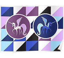 Luna & Celestia Poster