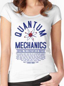 Quantum Mechanics Women's Fitted Scoop T-Shirt