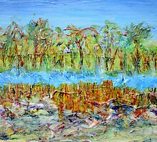 marsh Inlet by Regina Valluzzi