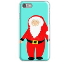 Jolly Santa Claus Happy Festive Christmas Theme iPhone Case/Skin