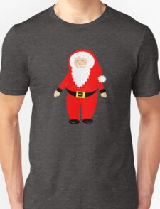 Jolly Santa Claus Happy Festive Christmas Theme T-Shirt