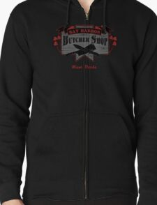 Bay Harbor Butcher Shop- Dexter Zipped Hoodie