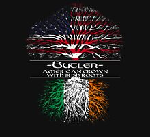 Butler - American Grown with Irish Roots Unisex T-Shirt