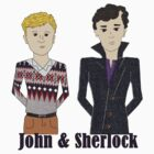 John and Sherlock Cartoons by SherlockReader1